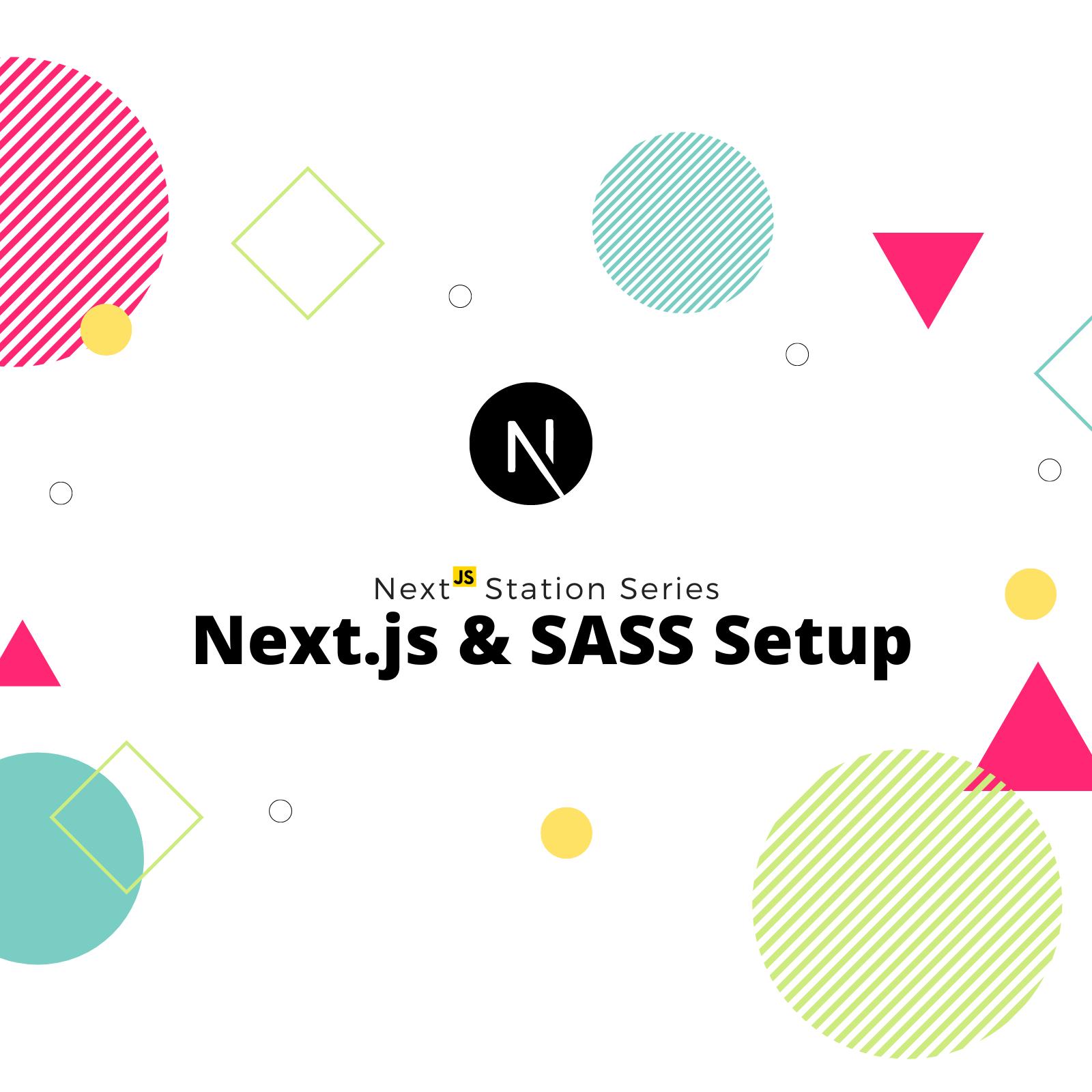 Next.js Component level SCSS setup