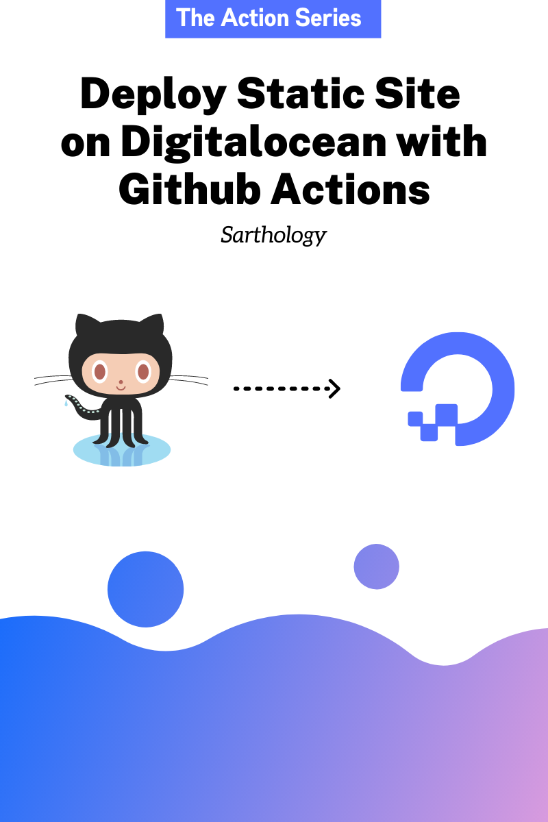 Deploy Static Site on Digitalocean using Github Actions